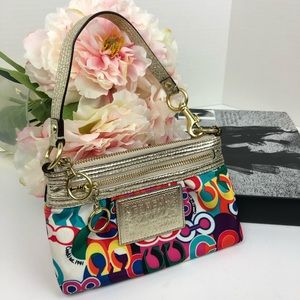Coach Poppy Colorful Bag